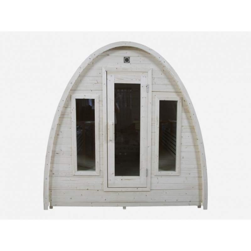 Reykjavik udendørs sauna til 6 personer